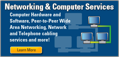 Networking and Computer Service, Wide Area Networking, Peer to Peer, Hardware and Software